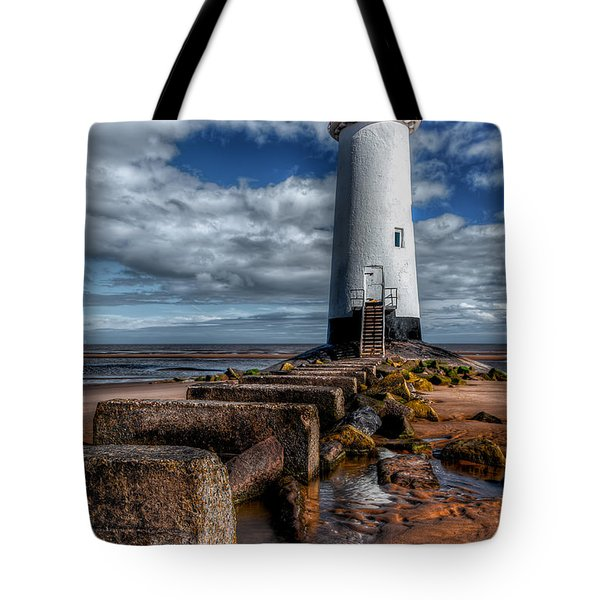 Tote Bag featuring the photograph House Of Light by Adrian Evans