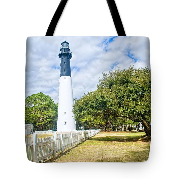 Hunting Island Lighthouse Tote Bag