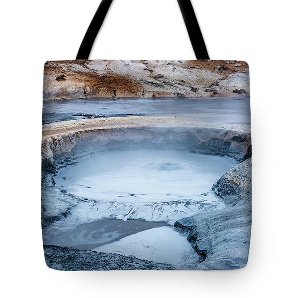 Hverir Steam Vents In Iceland Tote Bag