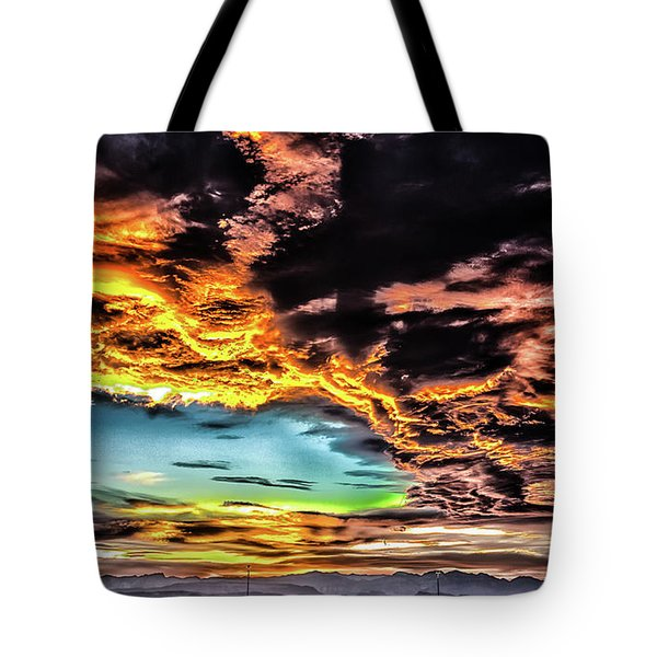 Tote Bag featuring the photograph I Am That I Am by Michael Rogers