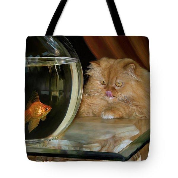 I Love Sushi Tote Bag