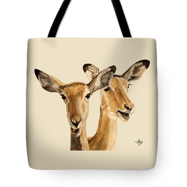 Impalas Tote Bag