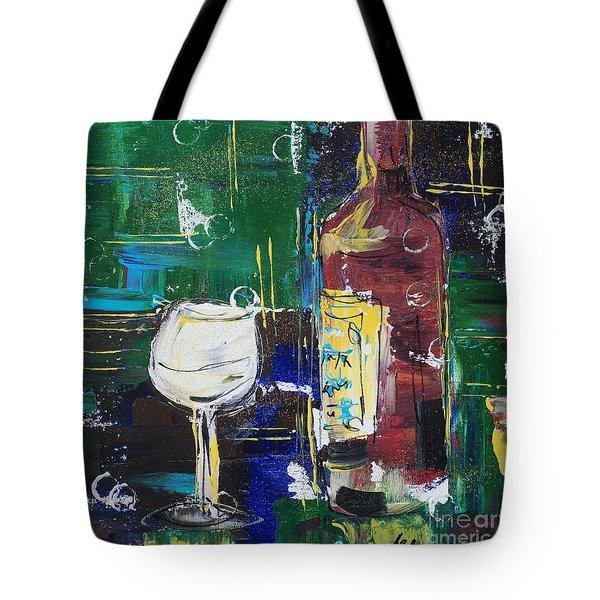 In Vino Veritas. Wine Collection 12 Tote Bag