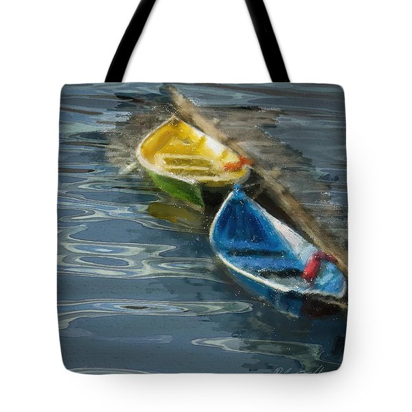 2 In Waiting Tote Bag by Dale Stillman