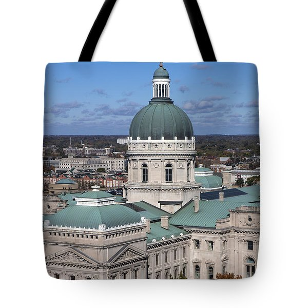 Indiana State Capitol Tote Bag