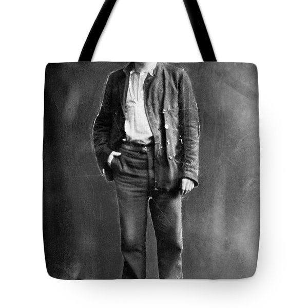 Jack London (1876-1916) Tote Bag by Granger