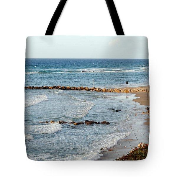 Jaffa Beach 7 Tote Bag