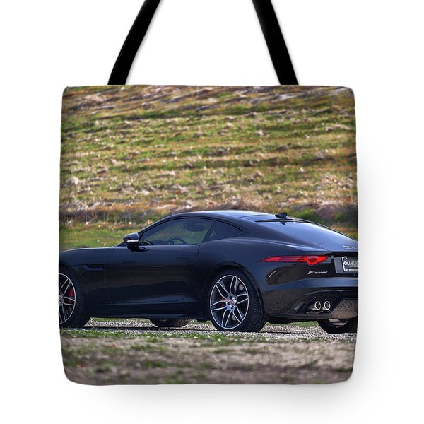 #jaguar #f-type #print Tote Bag