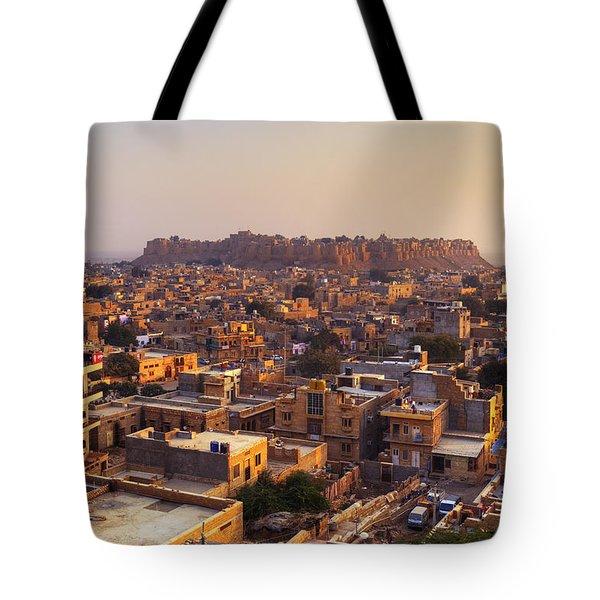 Jaisalmer - India Tote Bag