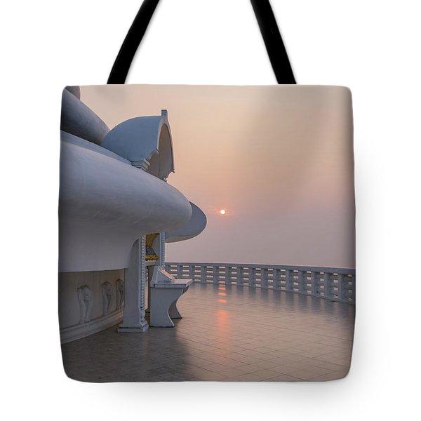 Japanese Peace Pagoda - Sri Lanka Tote Bag