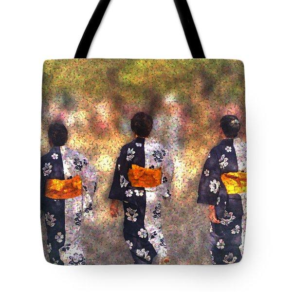 Jidai Matsuri Tote Bag