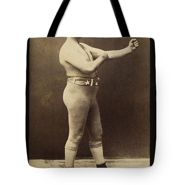 John L. Sullivan (1858-1918) Tote Bag by Granger