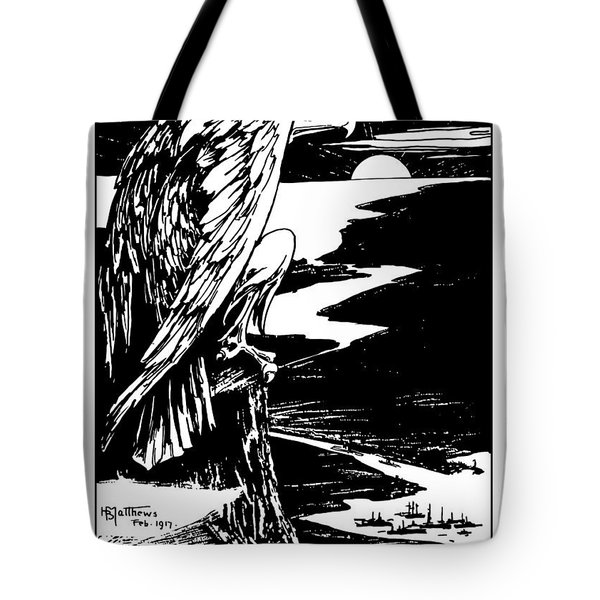On Guard - Join The Navy Tote Bag