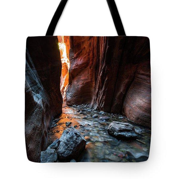 Kanarra Slot Canyon Tote Bag