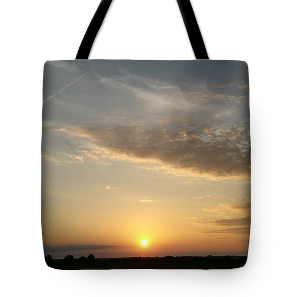 Kansas Sunset Tote Bag by Dustin Soph