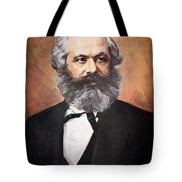 Karl Marx Tote Bag by Unknown