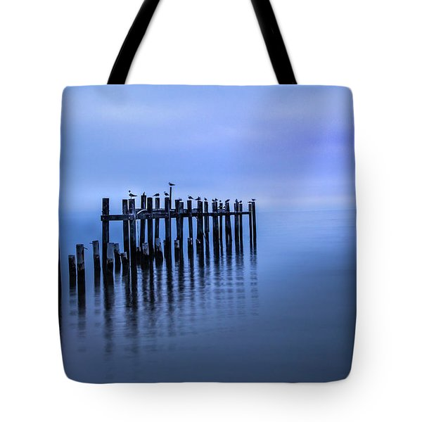 Colorful Overcast At Twilight Tote Bag