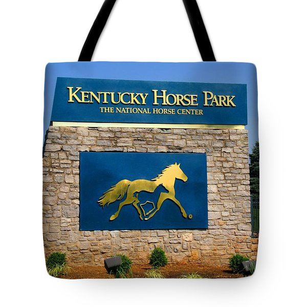 Kentucky Horse Park Tote Bag