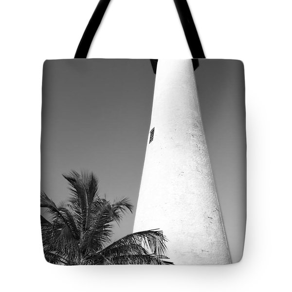 Key Biscayne Lighthouse Tote Bag
