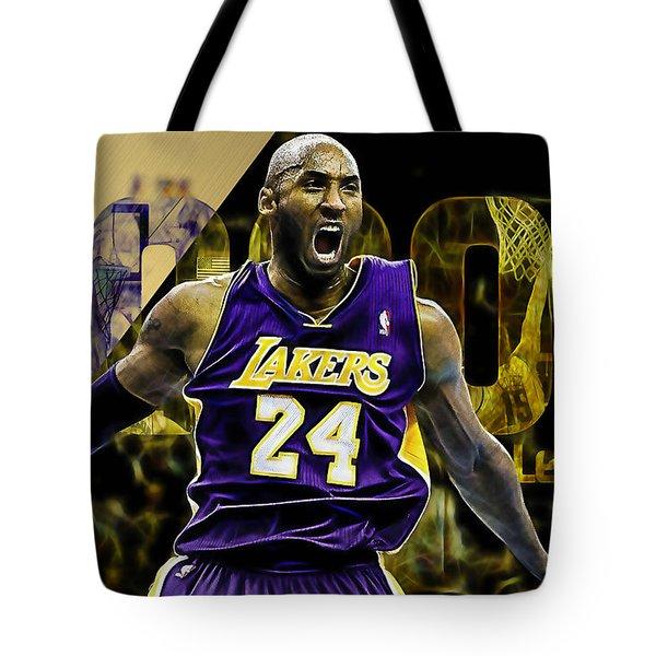 Kobe Bryant Collection Tote Bag
