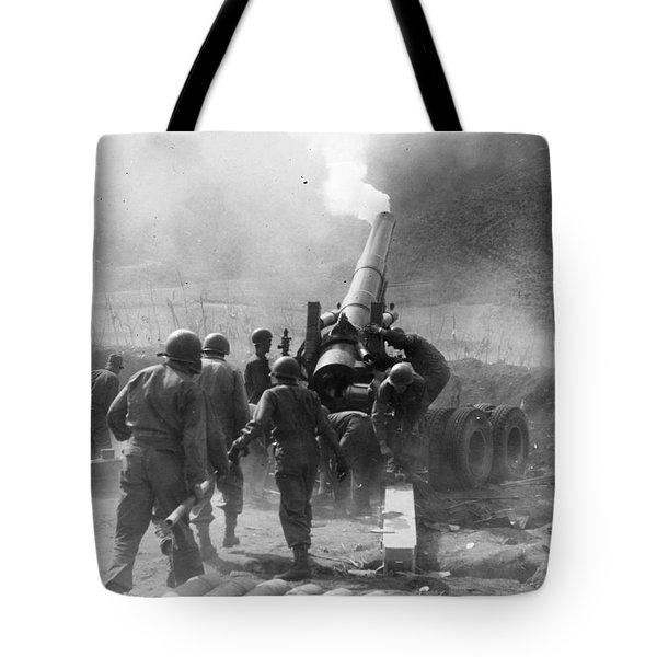 Korean War: Artillery Tote Bag by Granger