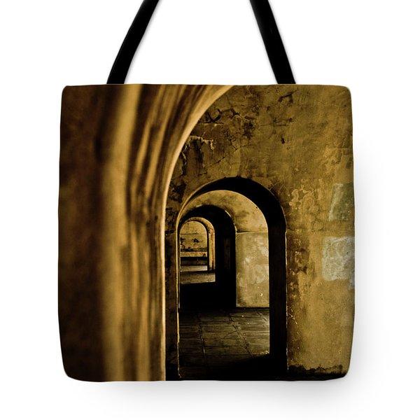 Labyrinth Tote Bag by Grebo Gray
