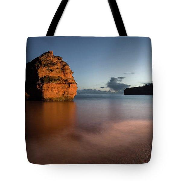 Ladram Bay In Devon Tote Bag