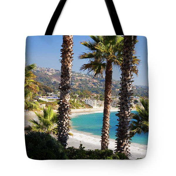 Laguna Beach California Coast Tote Bag