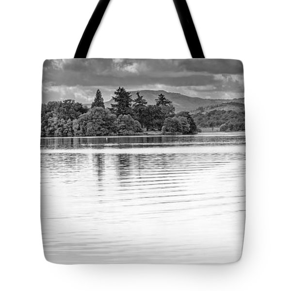 Lake Of Menteith Tote Bag by Jeremy Lavender Photography