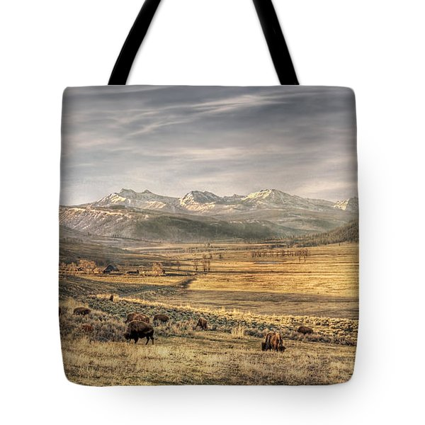 Lamar Valley Tote Bag