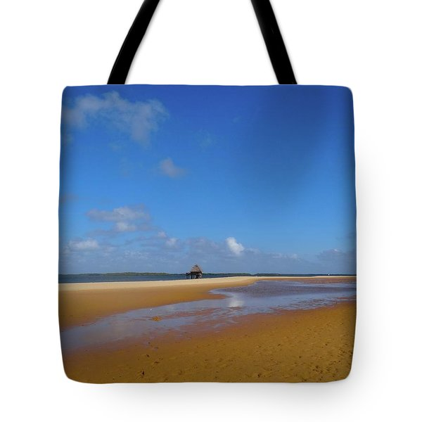 Lamu Island - Wooden Fishing Dhow - Colour Tote Bag