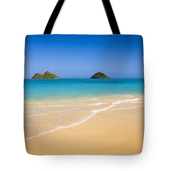 Lanikai, Mokulua Islands Tote Bag