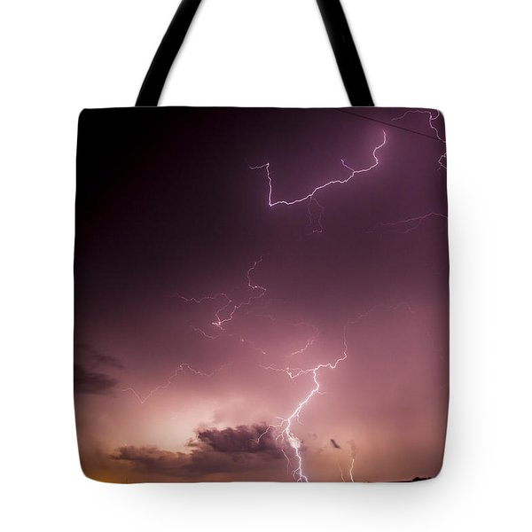 Late July Storm Chasing 057 Tote Bag