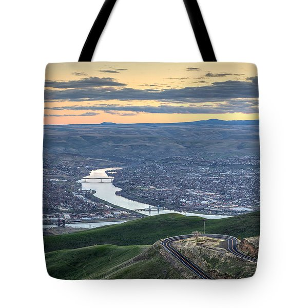 Lc Valley Tote Bag by Brad Stinson