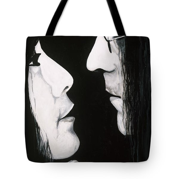 Lennon And Yoko Tote Bag