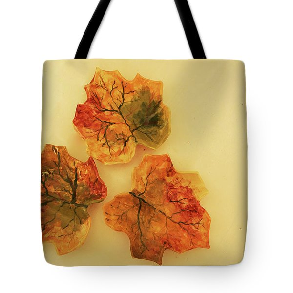 Little Leif Dish Tote Bag by Itzhak Richter