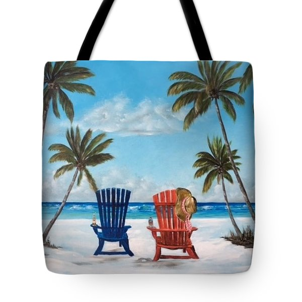 Living The Dream Tote Bag by Lloyd Dobson