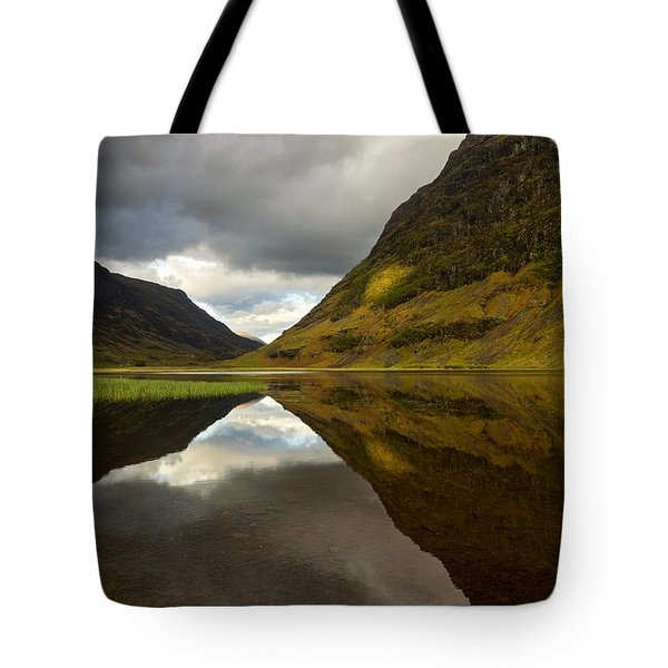 Loch Achtriochtan Tote Bag by Stephen Taylor