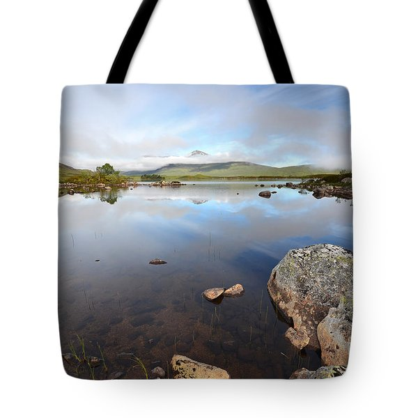 Loch Nah Achlaise Tote Bag