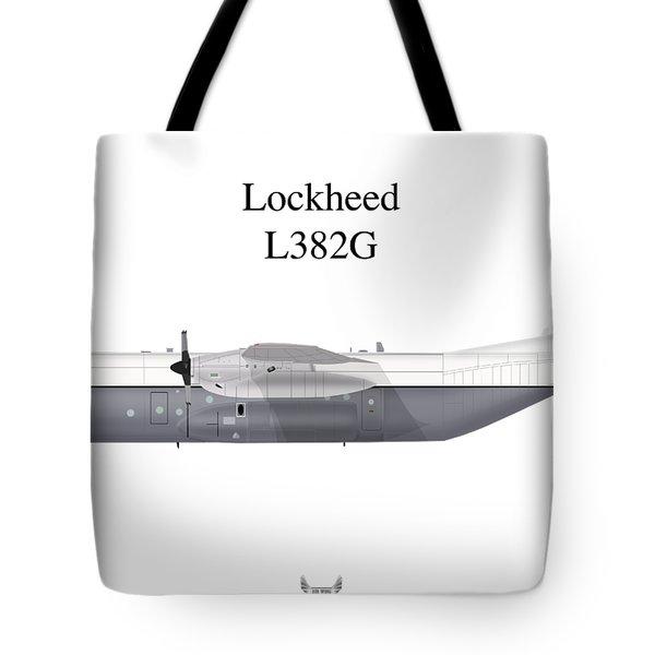 Lockheed L382g Tote Bag