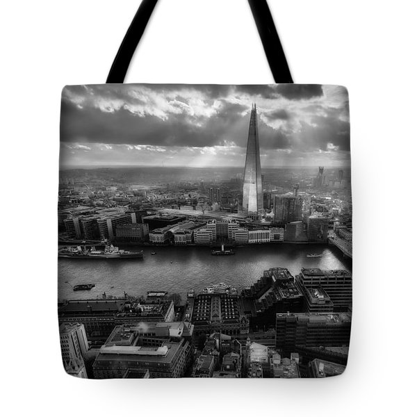 London From The Sky Garden Tote Bag