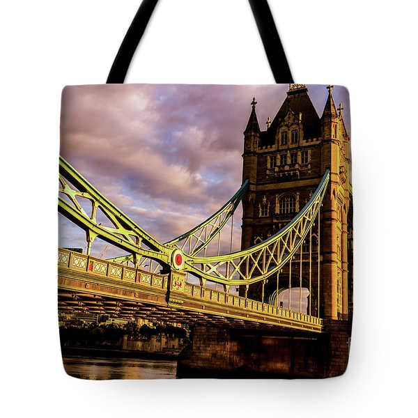 London Tower Bridge. Tote Bag
