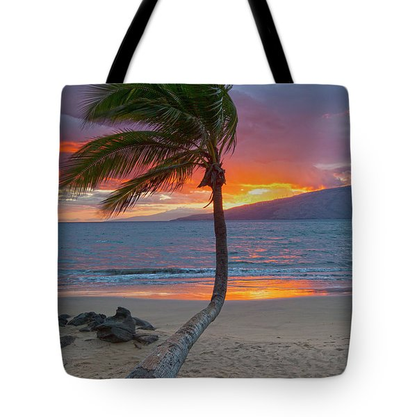 Lonely Palm Tote Bag