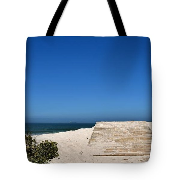 Tote Bag featuring the photograph long awaited View by Werner Lehmann