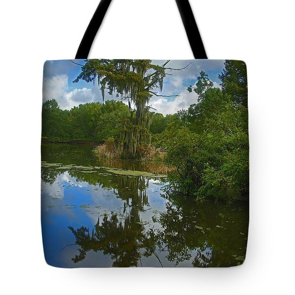Louisiana  Bald Cypress Tree Tote Bag