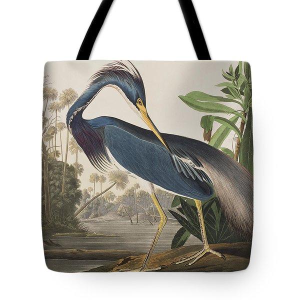 Louisiana Heron  Tote Bag