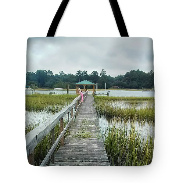 Lowcountry Dock Tote Bag