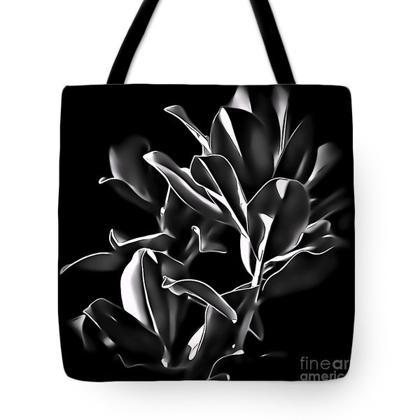 Magnolia Leaves Tote Bag