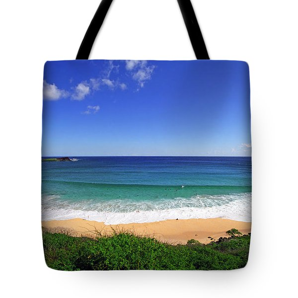 Makapuu Beach Tote Bag by Kevin Smith