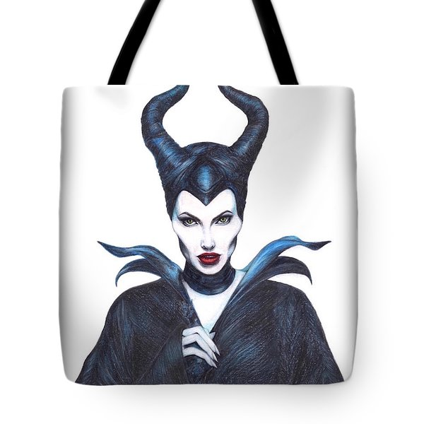 Maleficent  Once Upon A Dream Tote Bag by Kent Chua